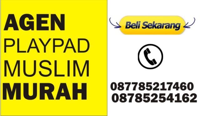 Mainan Playpad Anak Muslim Islami